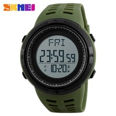 Часы c шагомером Skmei 1295 Army Green